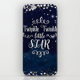 Twinkle Twinkle Little Star iPhone Skin