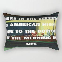 New York City Nighthawks Rectangular Pillow