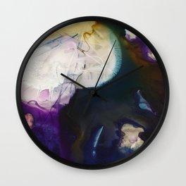 Introspective cosmos Wall Clock