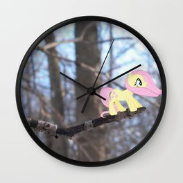 See the Beauty Wall Clock