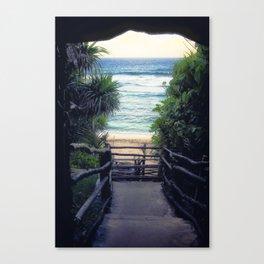 Oholei beach Canvas Print