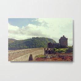 Eilean Donan Castle, Scotland's Highlands - Fine Arts Travel Photography Metal Print