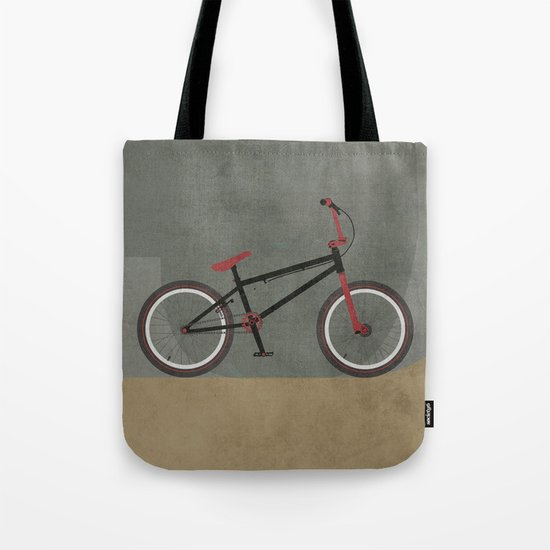 BMX Bike Tote Bag