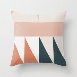 Cirque 04 Abstract Geometric Throw Pillow