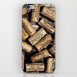 Wine Corks iPhone Skin