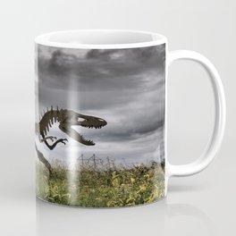 Steel T-Rex Coffee Mug