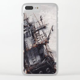 All Hands On Deck Clear iPhone Case