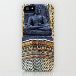 Buddha Statue at the Grand Palace Bangkok iPhone Case
