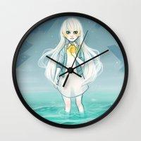 cyarin Wall Clocks featuring Safe Haven by Cyarin