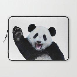 Panda Art Print Laptop Sleeve