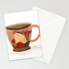 Goldfinch Teacup Stationery Cards