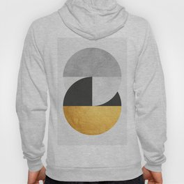 Golden Geometric Art IX Hoody