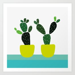 Meanwhile, in New Mexico Art Print