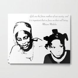 Miriam Makeba Metal Print