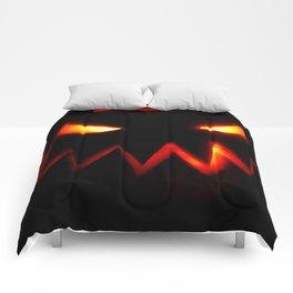 Evil Pumpkin Comforters