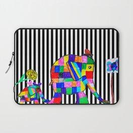 Elephant Festival |Family Walk | #society6 Laptop Sleeve