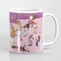 royal tenenbaums Mugs featuring O Tenenbaums! by JessLane