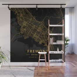 Fremont, United States - Gold Wall Mural