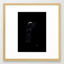 Fragile Men I Framed Art Print
