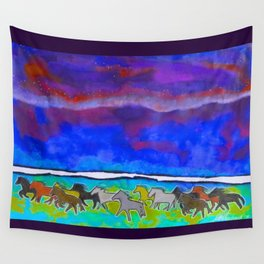 Sky Ponies #31 Wall Tapestry