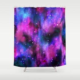 Dreamy Galaxy Shower Curtain