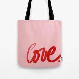 Handpainted Collection: Love 3 Tote Bag