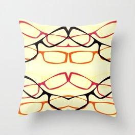 Four Eyes (1) Throw Pillow