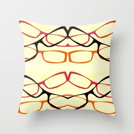 Four Eyes (1) Throw Pillow
