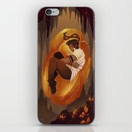 Amber Light iPhone Skin