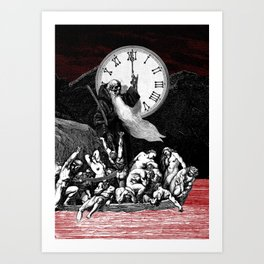 Two Minutes To Midnight Art Print