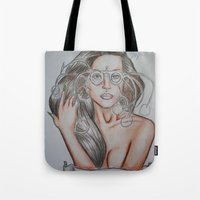 artpop Tote Bags featuring ARTPOP by  Can Encin