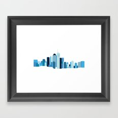 Brisbane Framed Art Print