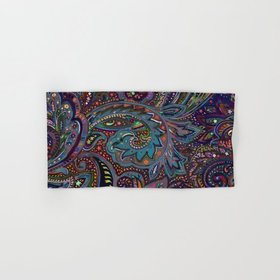Magic Paisley Pattern Hand & Bath Towel