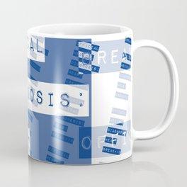 HEART</3BREAK blue Coffee Mug