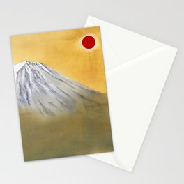 Yokoyama Taikan - MOUNT FUJI - KENKON KAGAYAKU - Top Quality Image Edition Stationery Cards