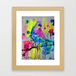 Jager Crown -Too Much Information Byrd Framed Art Print