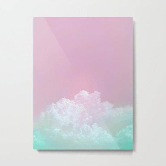 Dreamy Candy Sky Metal Print