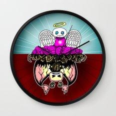 Angel and Demon RonkyTonk Wall Clock