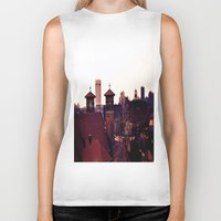 religion Biker Tanks featuring Cleveland Religion by Toni Tylicki
