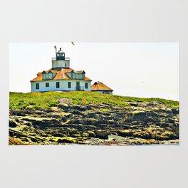 Lighthouse Island 2 Photography Rug