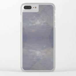 Skyscapes Of Light In 3-D Clear iPhone Case