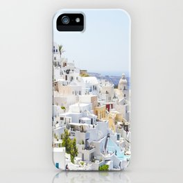 Fira, Santorini Greece iPhone Case