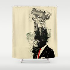 Businessman Shower Curtain