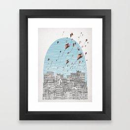Kedesh City of Refuge Framed Art Print
