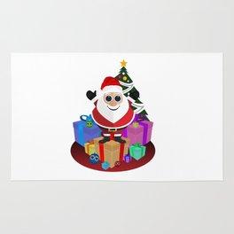 Santa Claus - Christmas Rug