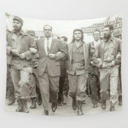 Che Guevara, Fidel Castro and Revolutionaries Wall Tapestry