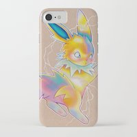 lightning iPhone & iPod Cases featuring Lightning by Reid