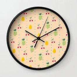 Fruity Spring Wall Clock