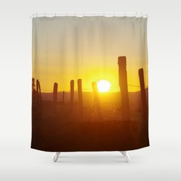 Sunbathe Shower Curtain