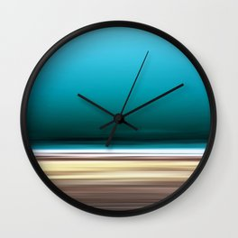 The Deep, Abstract Seascape Wall Clock